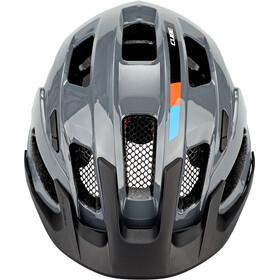 Cube Steep X Actionteam Hjelm, grey/orange